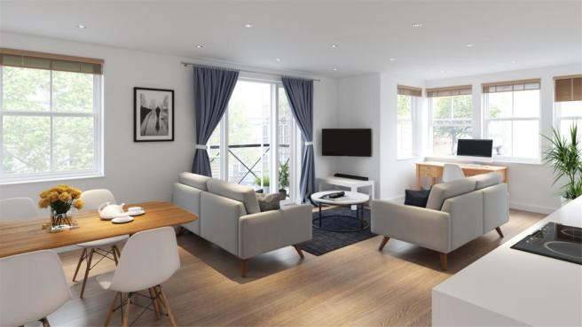 Living Space CGI