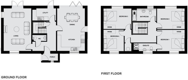 Floorplans Plot 7