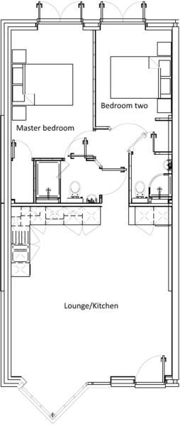Floorplan - Flat 1