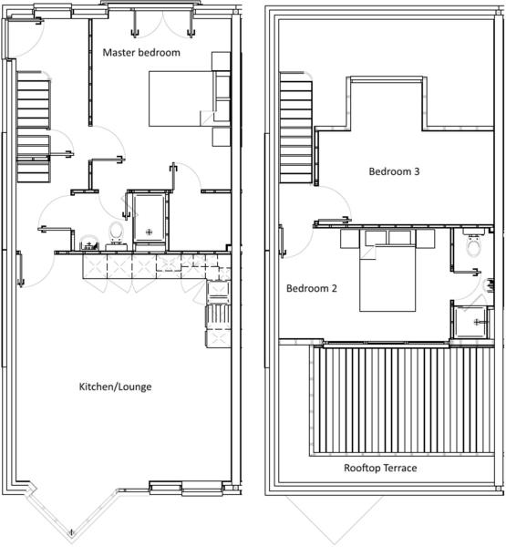 Floorplan - Maisonette 6