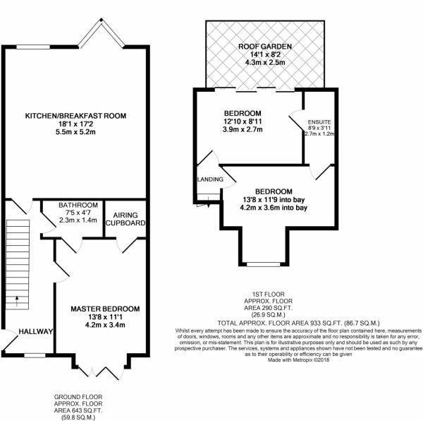 Floorplan - Maisonette 9