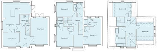 The Olive Floorplans