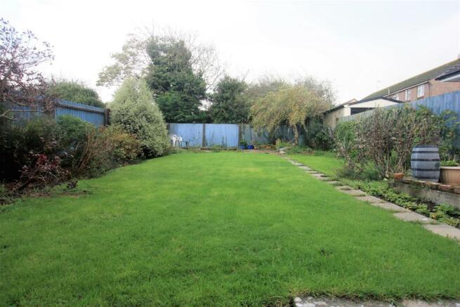 Southerly Rear Garden