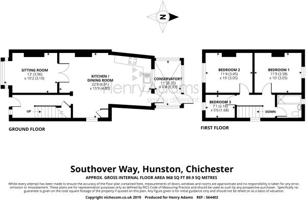 9 Southover Way