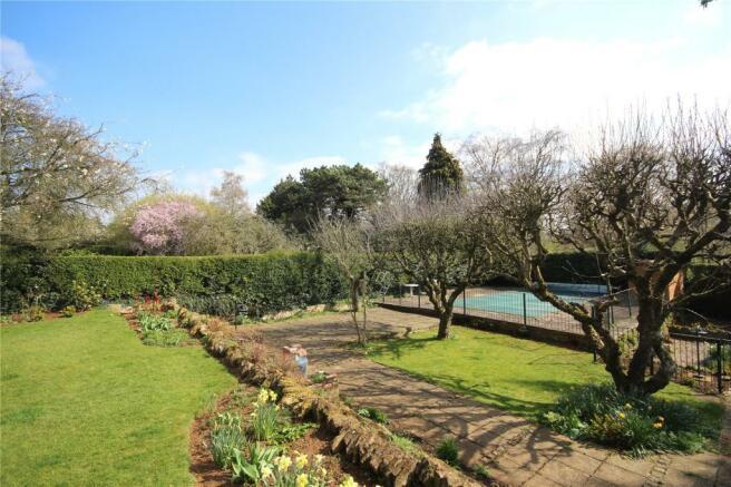 Lower Garden Area
