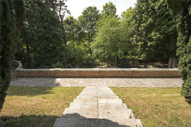 Landscaped Terrace