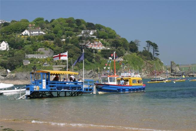 Ferry At South Sands