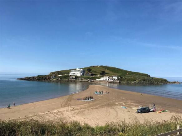 Views Burgh Island