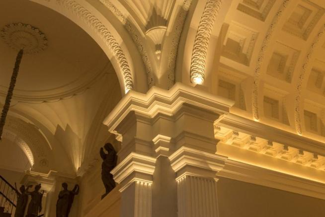 Hall arches