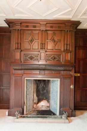 Panelled Fireplace