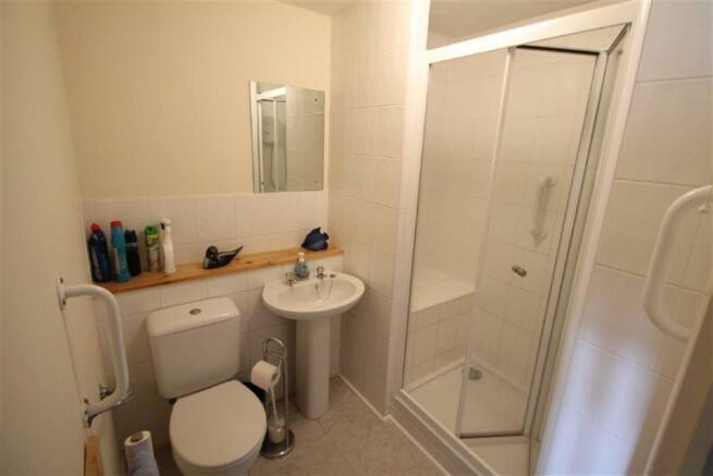 Upgraded Shower Room