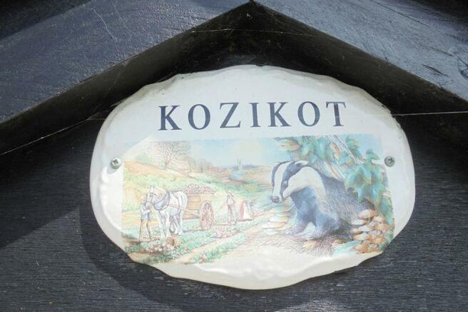 House sign - K...