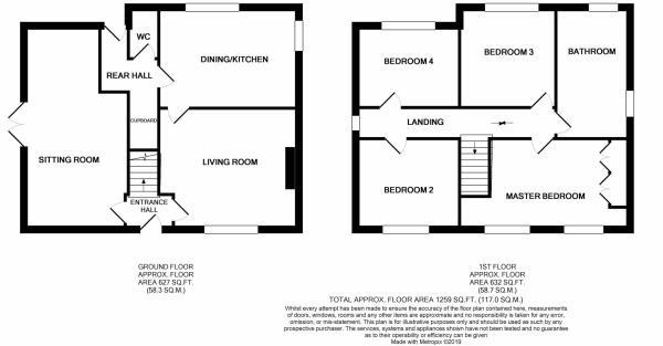 Floor Plan - Hollyhock Cottage, Kirklington.jpg