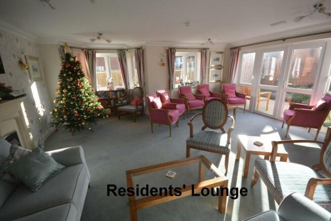 Communal residents lounge