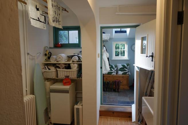 Utility room leading through to Boot room