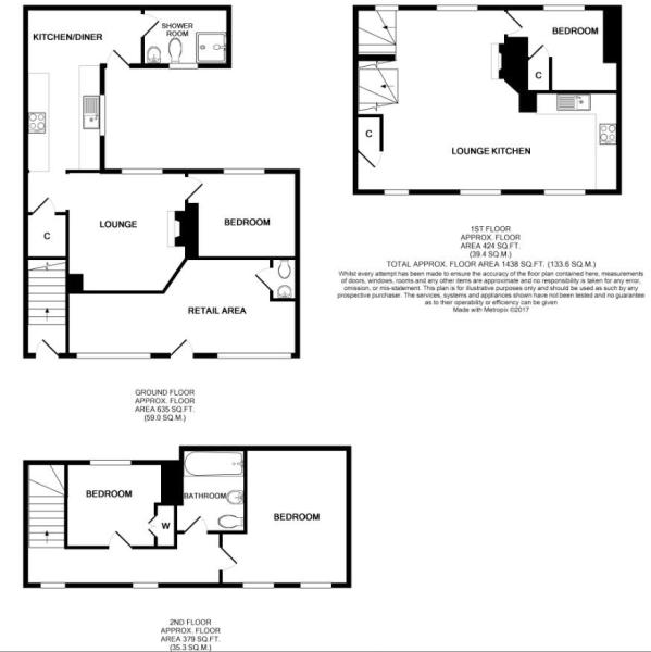2 Bank St floorplan