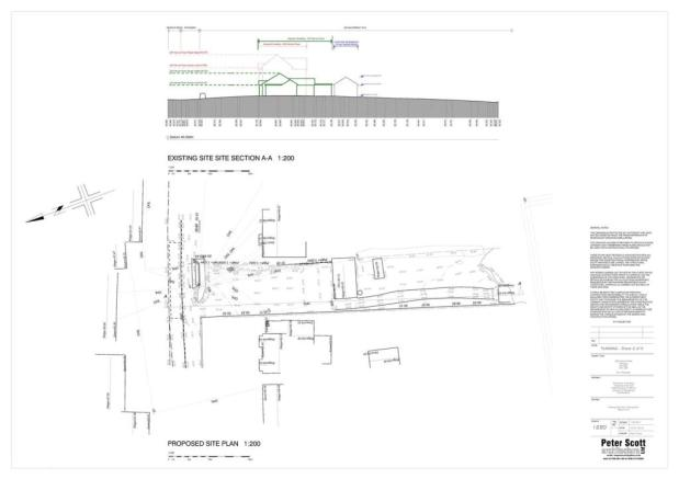 1220_2_Existing_Site_Plan_And_Existing_Site_Sectio