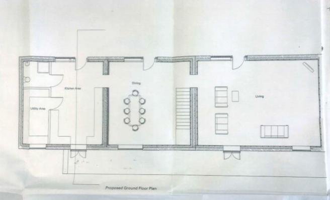 4 bed ground floor drawing