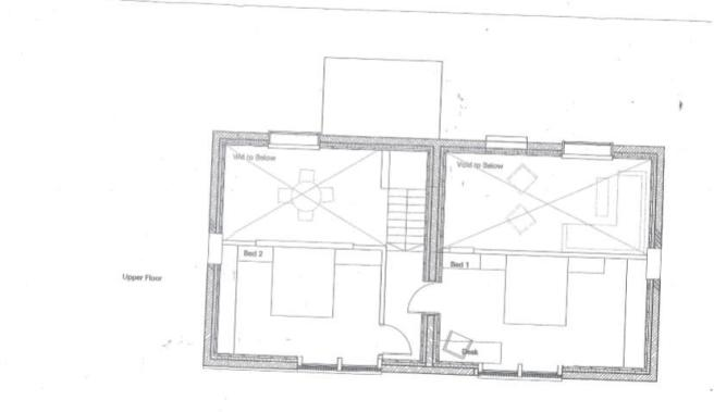 2 bed first floor drawing