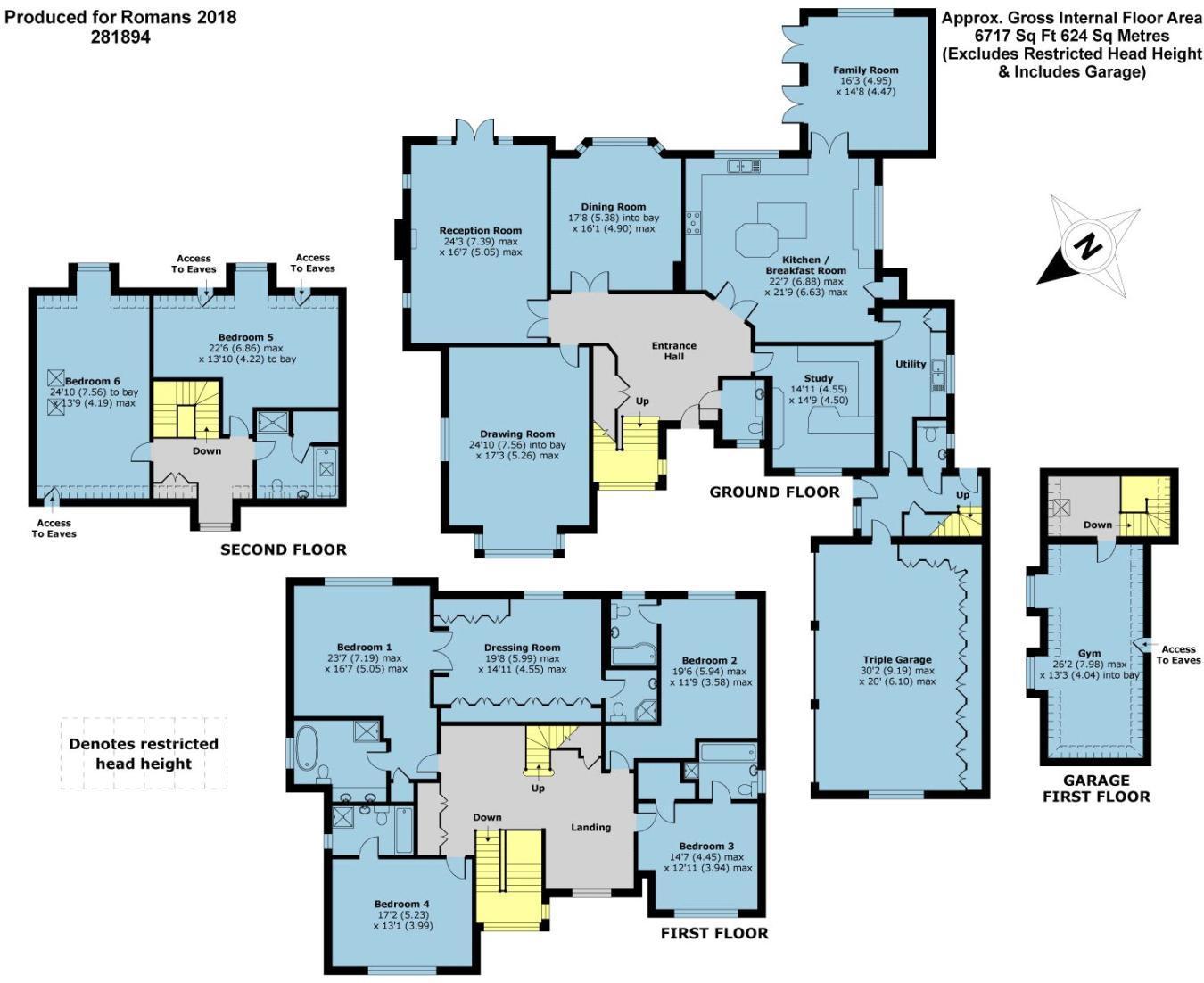 6 Bedroom Detached House For Sale In Windsor Road Gerrards Cross Sl9 Romans 8 Block Diagram
