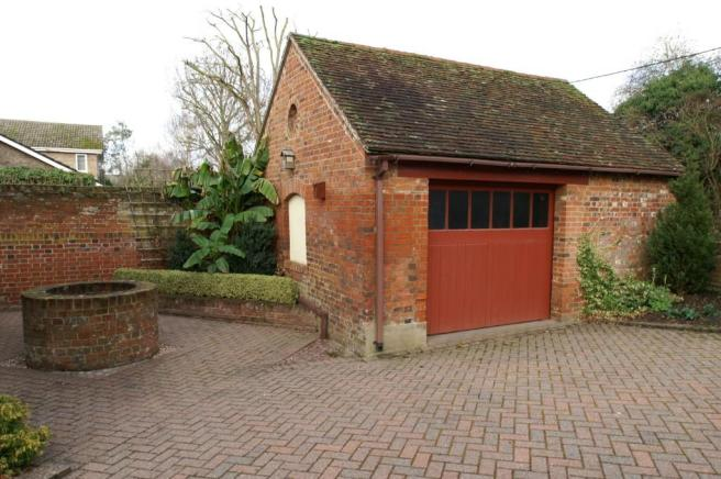 Garage and Well