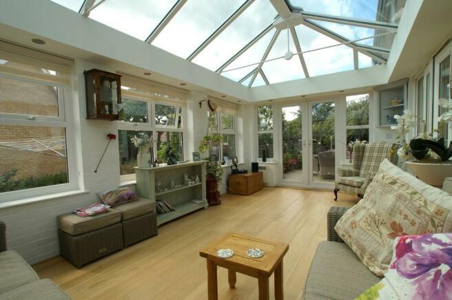 Vaulted Garden Room