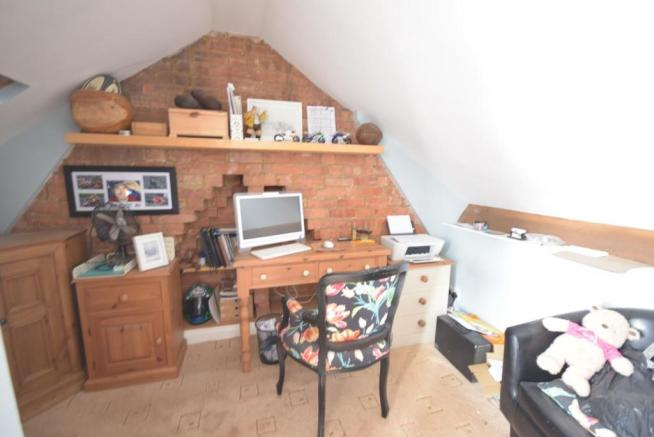 Attic space (not office room)