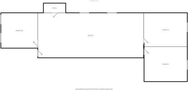 Floorplan Schoolhall