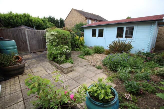 Rear garden - workshop