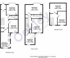 1 Bristol Street floorplan