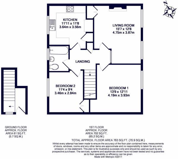 The Larches Floorplan