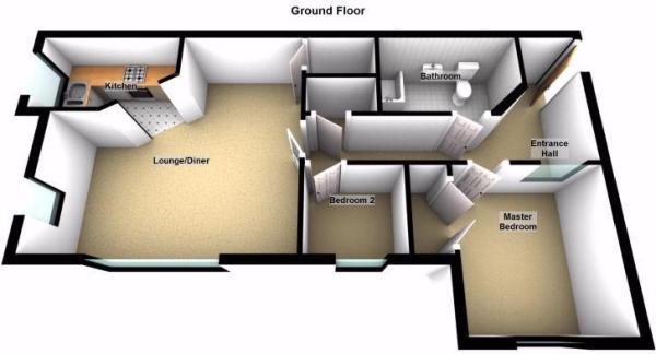 Floorplan-Ground Fl