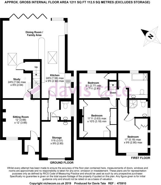 3 bedroom semi-detached house for sale in Shurlock Road