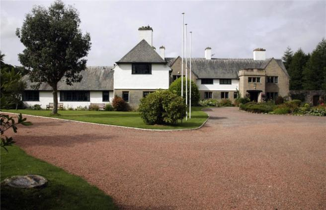 House and Driveway