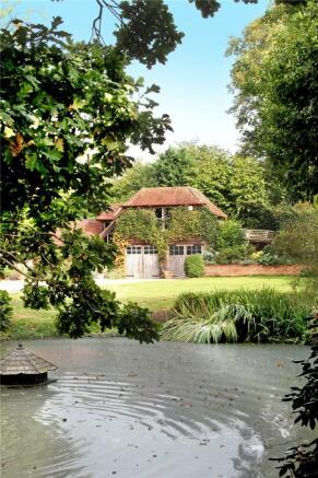 Pond and Garage