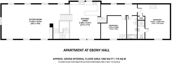Ebony Hall Apartment