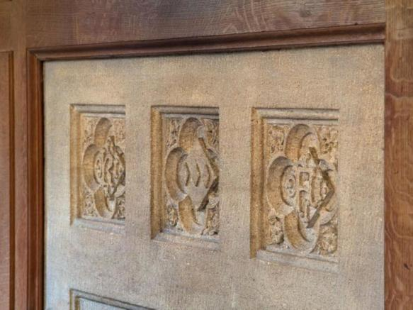 Fireplace Carvings