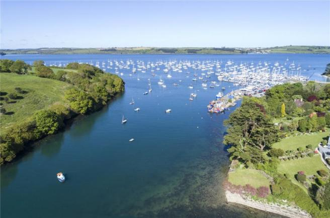 Nearby Mylor Harbour