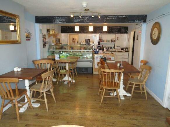 Cafe Area.