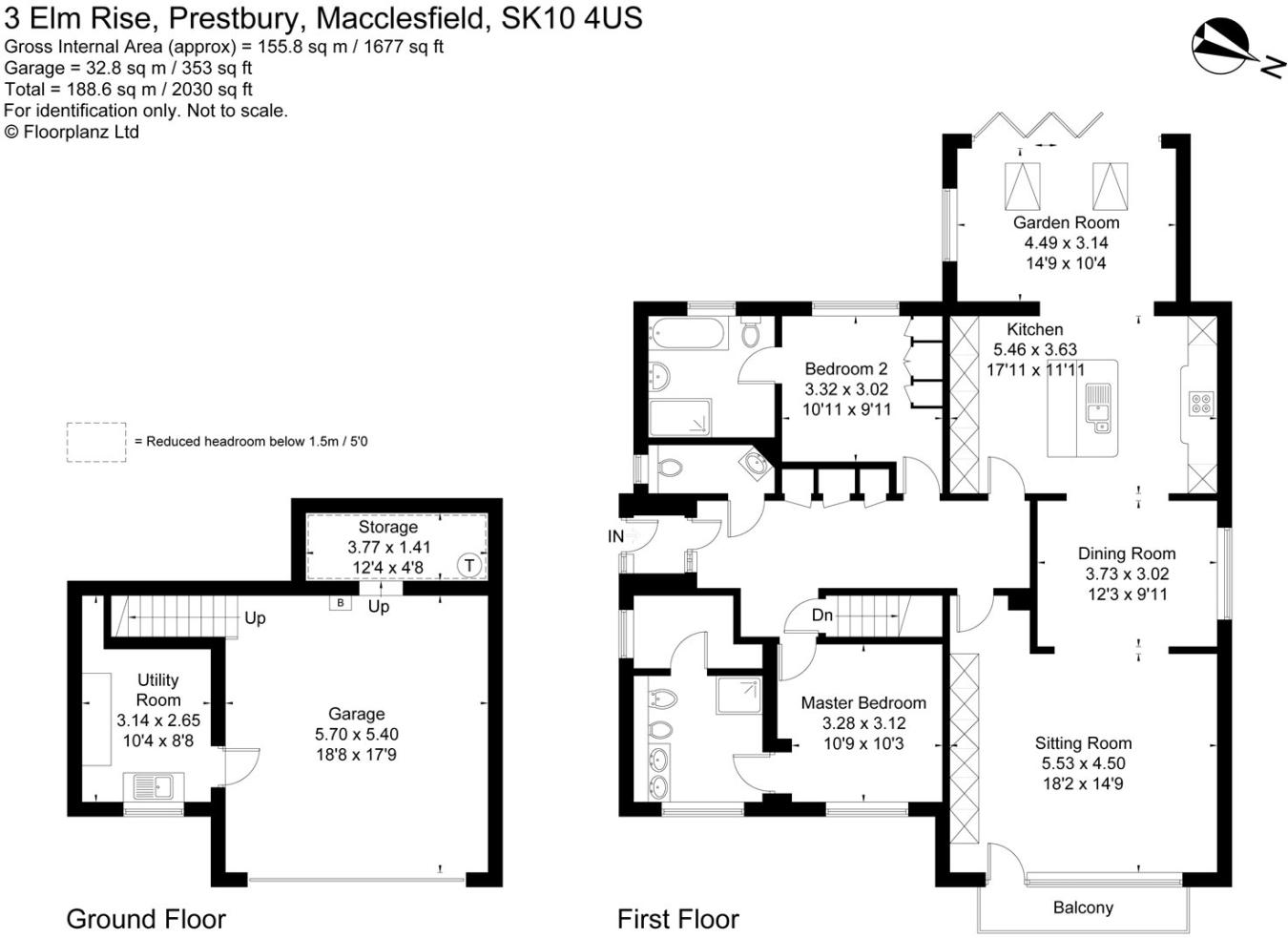 2 Bedroom Bungalow For Sale In Elm Rise Prestbury Macclesfield 4 Light Wiring Diagram Cheshire Sk10
