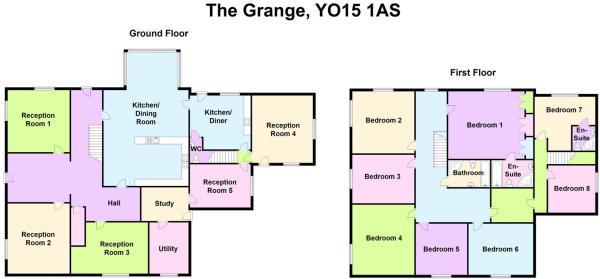 The Grange Floorplan