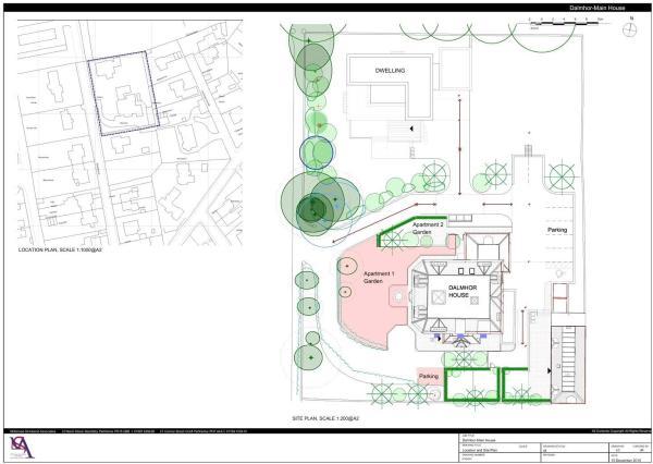 Site Plan (Dalmhor)
