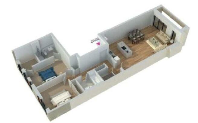 3D Floorplan 52/6