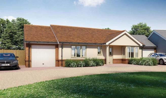 Plot 1 - Two Bedroom Detached Bungalow