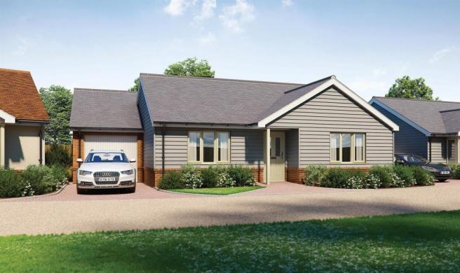 Plot 2 - Two Bedroom Detached Bungalow