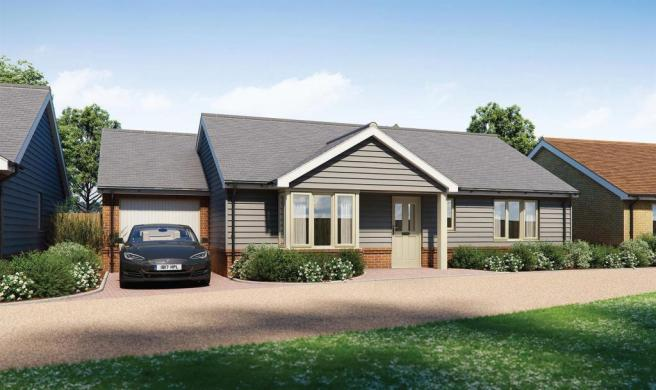 Plot 3 - Two Bedroom Detached Bungalow