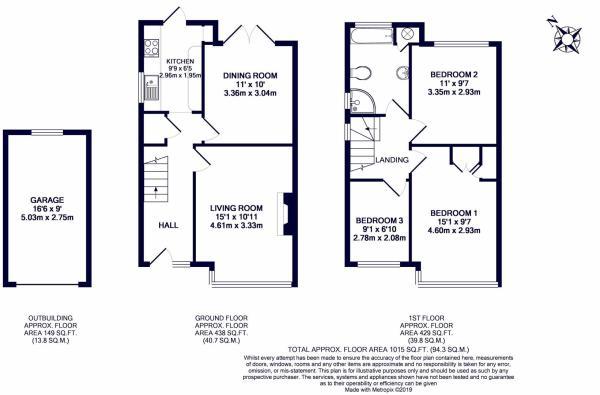 3 bedroom semi-detached house for sale in Crosier Way