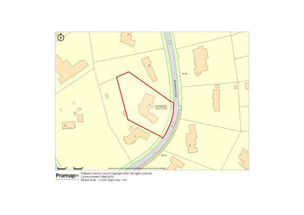 Site Plan- 0.78 Acre