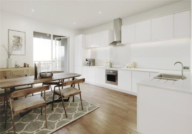 2 bedroom apartment for sale in Royal Albert Wharf ...