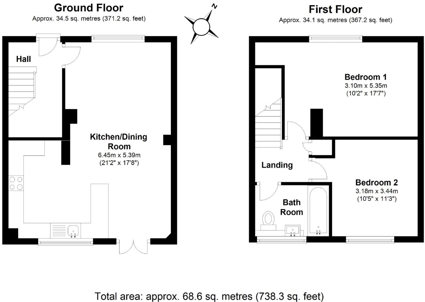 2 Bedroom House For Sale In Rodbourne Road Corston Wiltshire Sn16 Diagram Wiring 8 Pin Nr 51